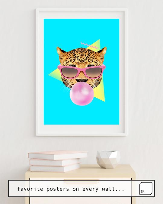 Poster | BUBBLE GUM LEO von Robert Farkas