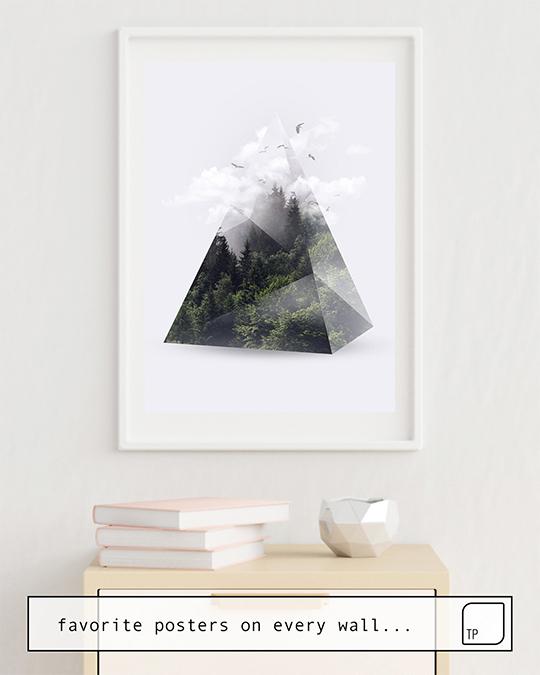 Affiche | FOREST TRIANGLE par Robert Farkas