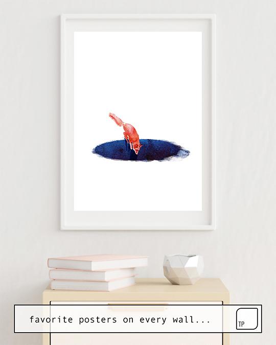 Poster | JUMP INTO NOWHERE von Robert Farkas