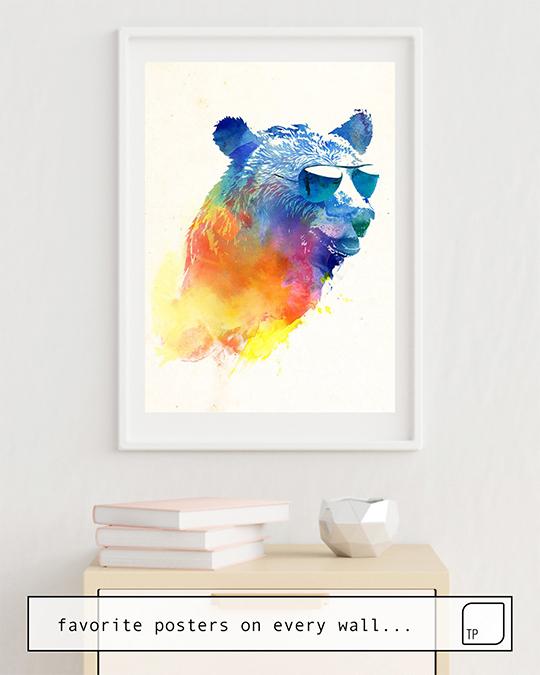 Affiche   SUNNY BEAR par Robert Farkas
