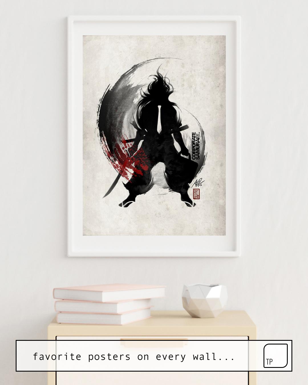 Poster | CORPORATE SAMURAI von Stanley Artgerm Lau