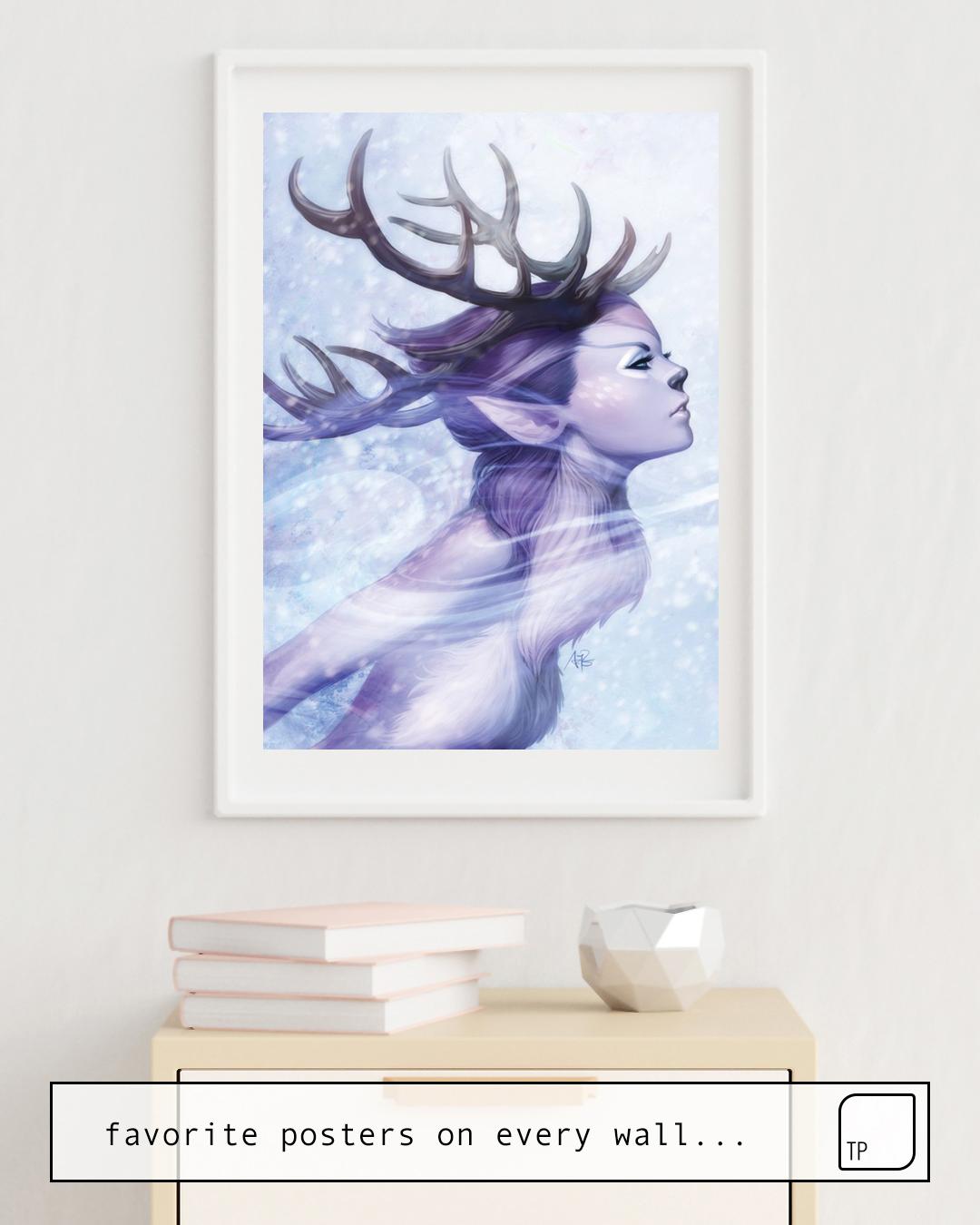 Poster | DEER PRINCESS by Stanley Artgerm Lau