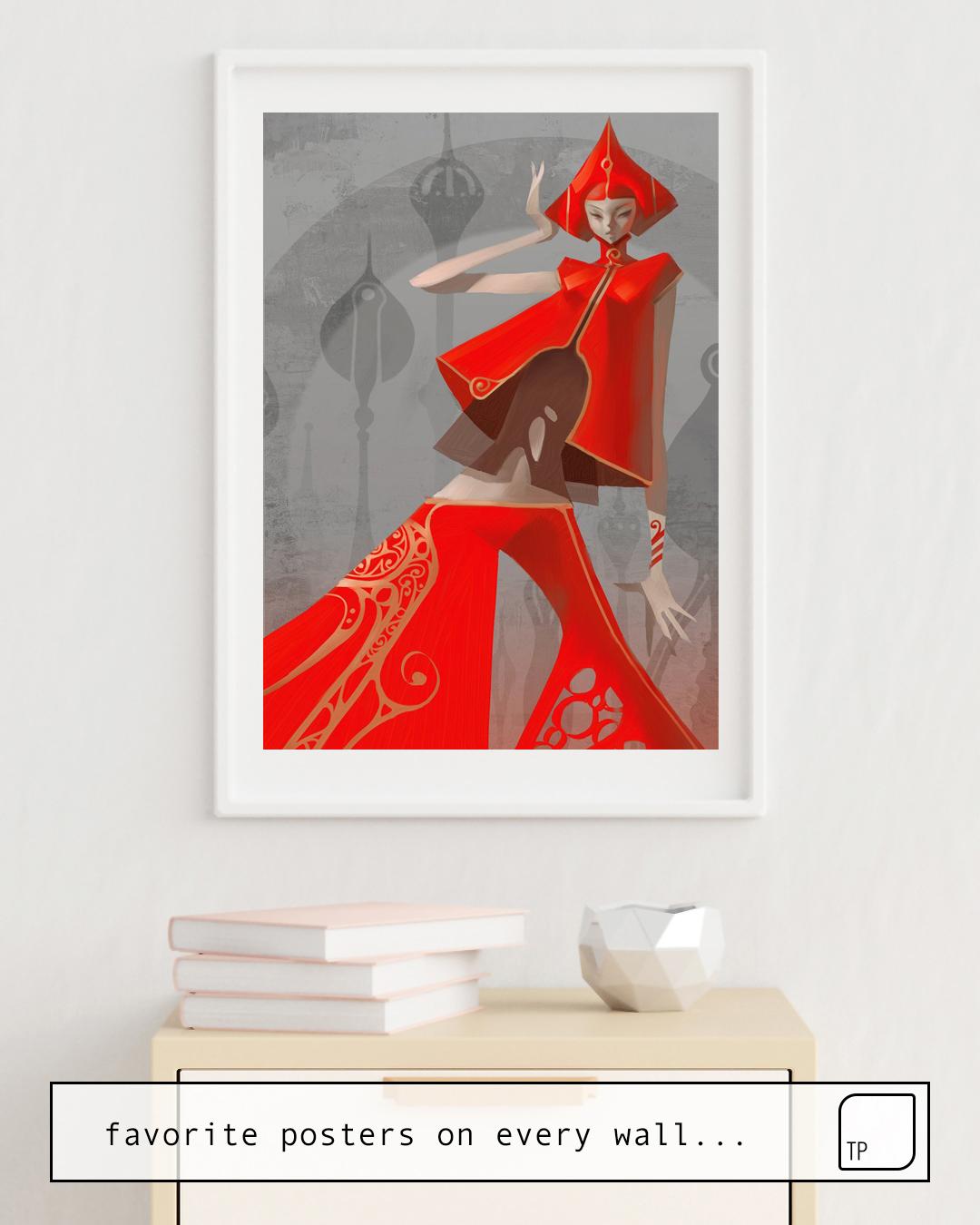 Poster | PEPPER FASHION von Stanley Artgerm Lau