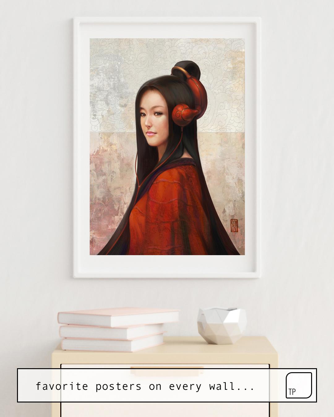 Poster | PEPPER ORIENT von Stanley Artgerm Lau