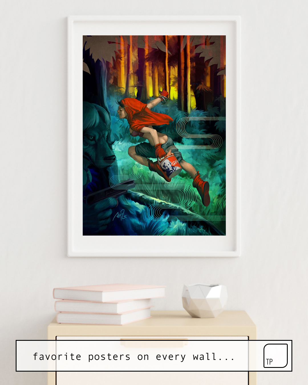Poster | RED HOOD von Stanley Artgerm Lau