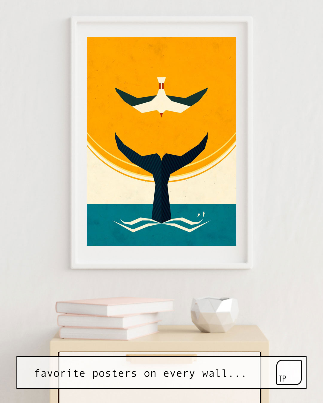 Poster | TOO BIG A FISH by Yetiland