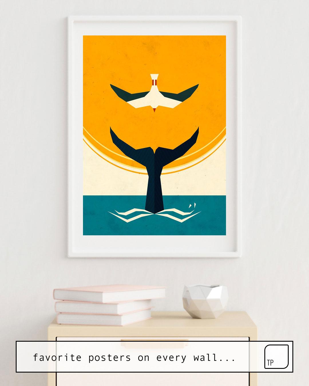 Affiche   TOO BIG A FISH par Yetiland